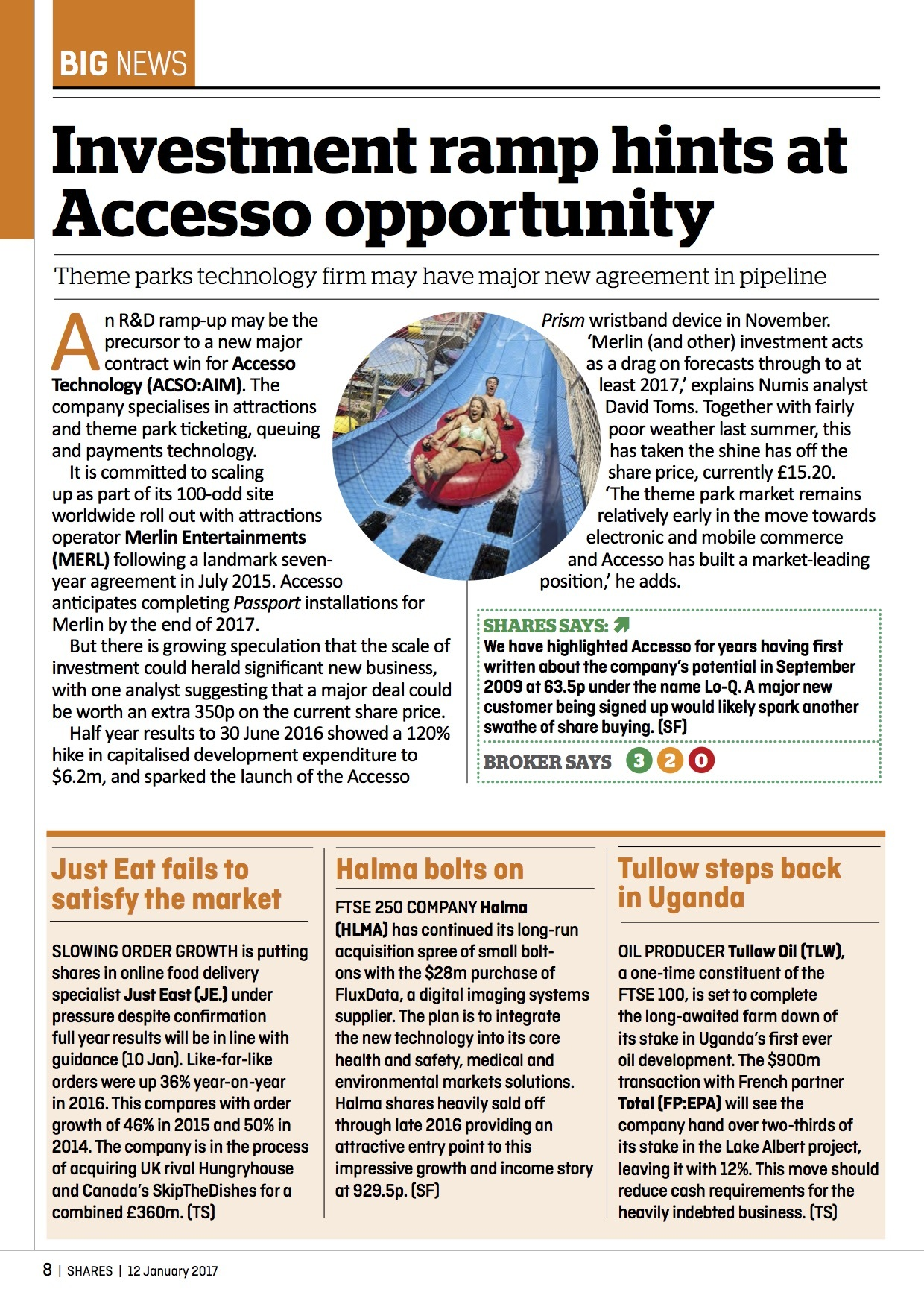 Accesso Shares 12 01 17 1