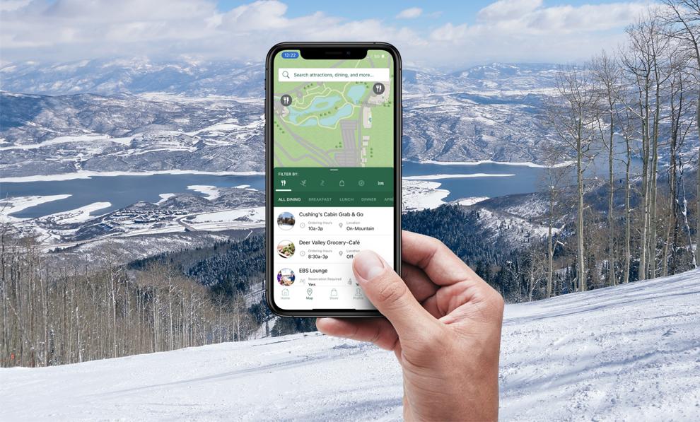 Mobile F&B Solutions for Ski