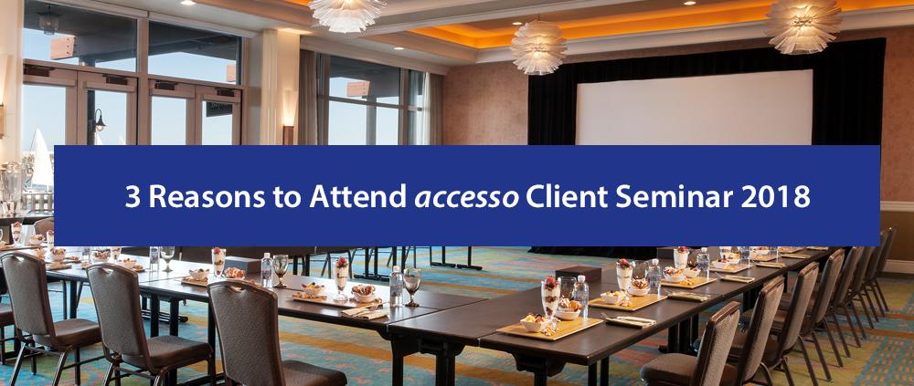 Client Seminar Blog July