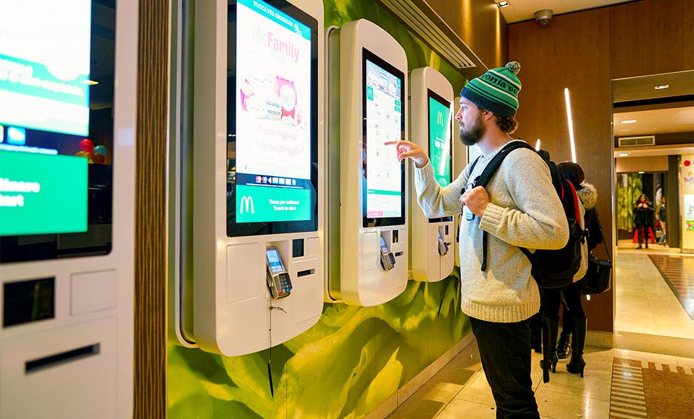 Mc Donalds Order Kiosk