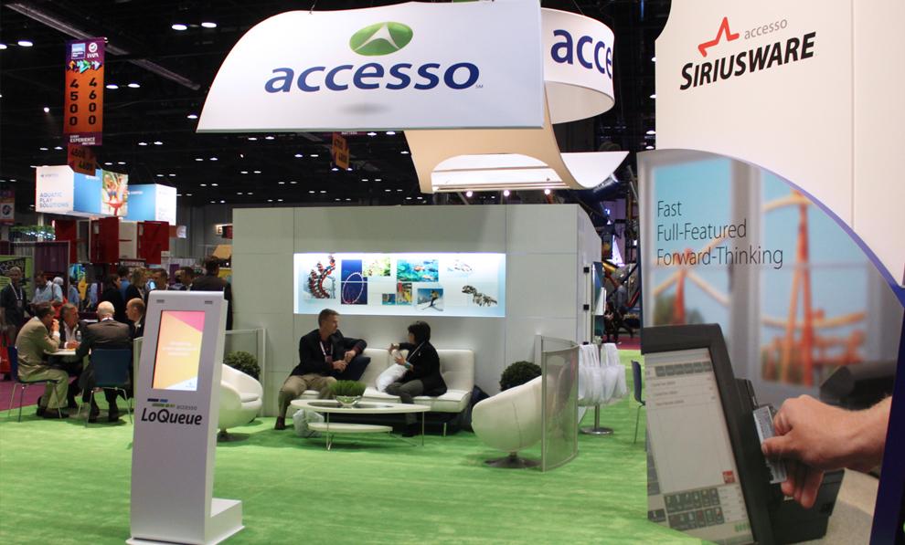 Accesso Trade Show Iaapa