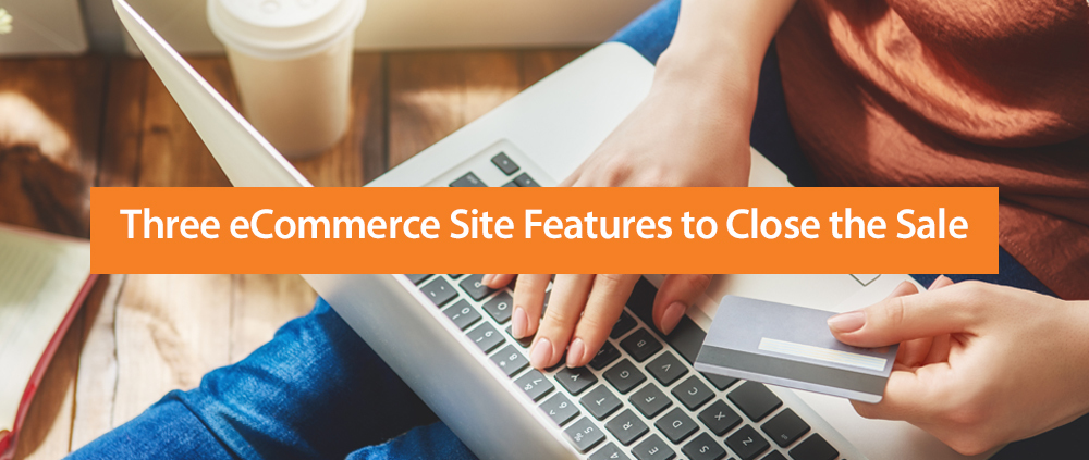 E Commerce Site Features Blog Header