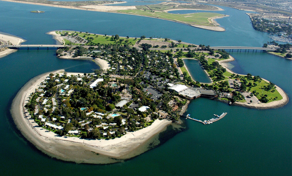 Paradisepoint Aerial